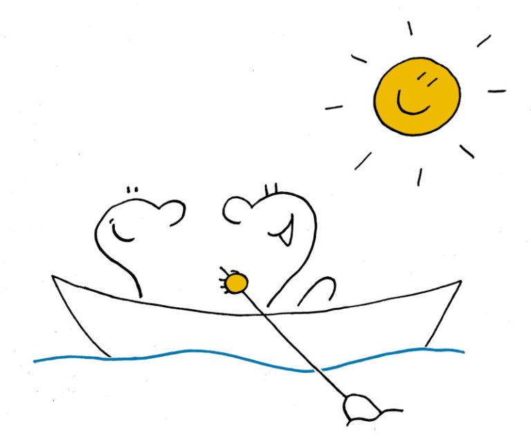 Unbewusstes im Boot